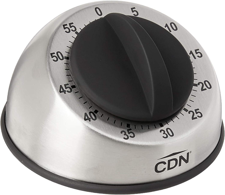 CDN MT1 Heavy Duty Mechanical Timer, Silver
