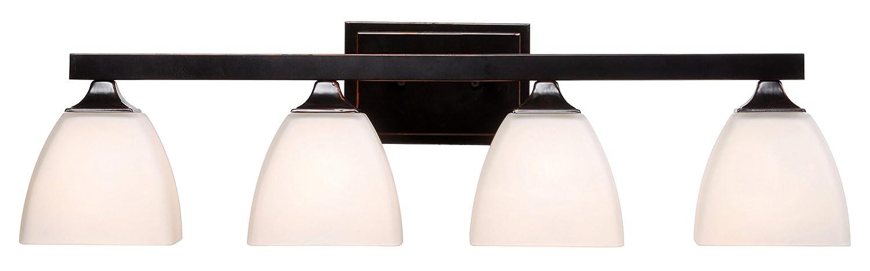 Kenroy Home 93227ORB Helix 4 Light Vanity best