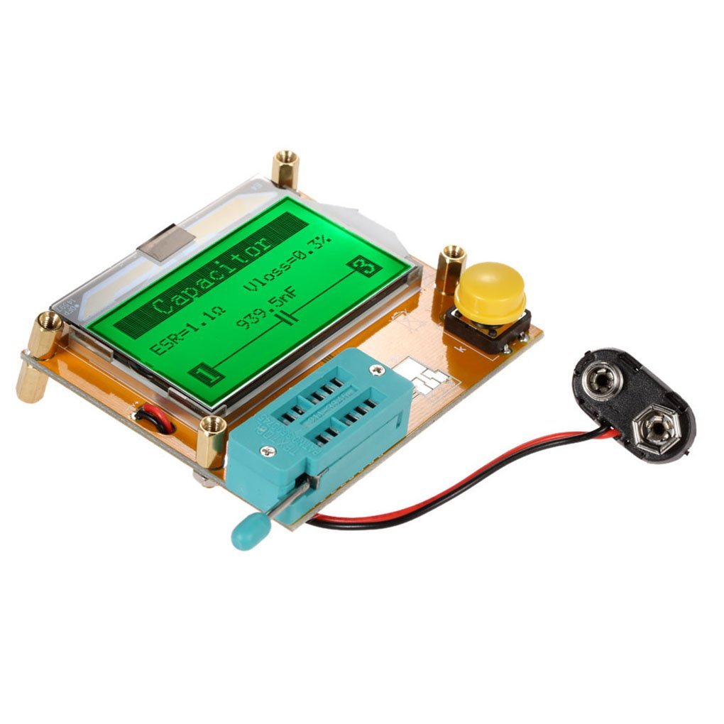 Onepeak Lcd Display Esr Transistor Tester Multifunctional Resistor In Circuit For Scr Diodes And Transistors Inductor Capacitor Mos Tube Triode