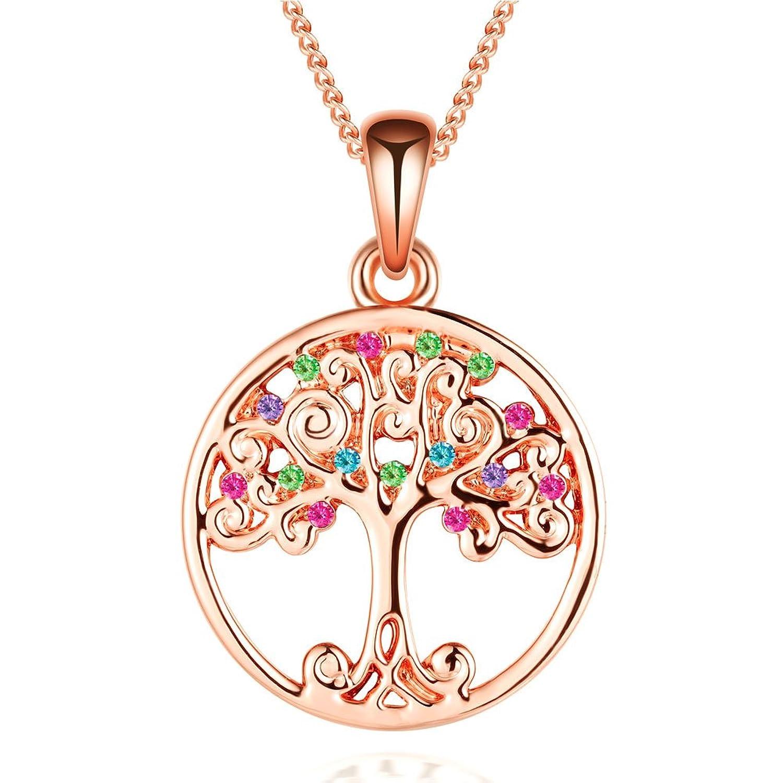Collar del árbol de la vida de Murtoo decorado con elementos de
