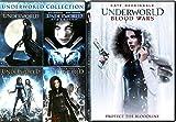 Old & New Blood Underworld Collection 5 movie Set Rise Vampires & Lycans Blood Wars / Awakening / Evolution