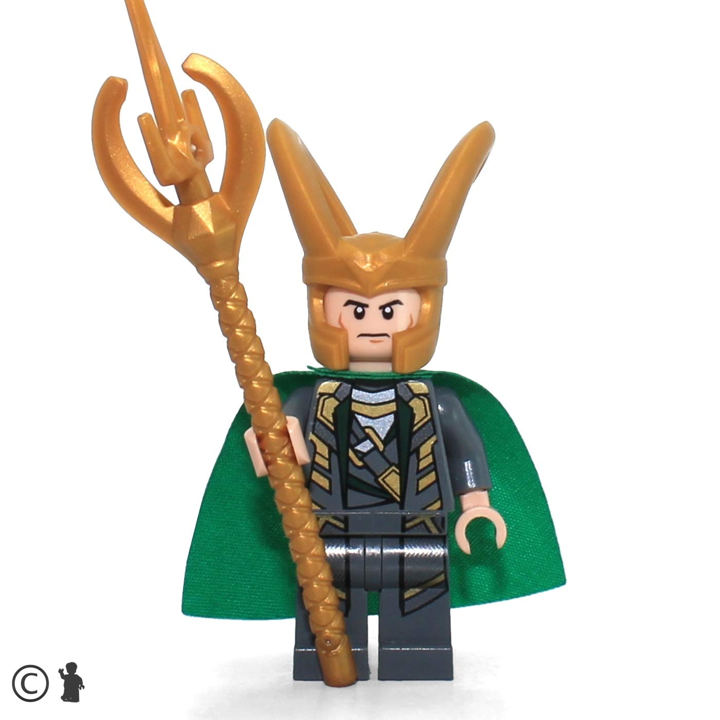 Loki with Scepter LEGO Super Heroes Avengers Minifigure
