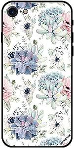 حافظة لهاتف آيفون 8 - نقش أزهار كيوتس