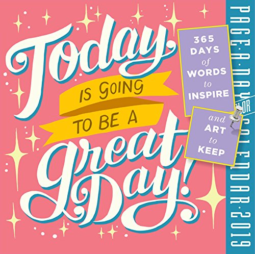 (Today is Going to Be a Great Day! Color Page-A-Day Desk Calendar 2019 [6