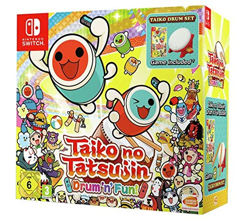 Taiko no Tatsujin Drum 'n' Fun! Bundle - Nintendo Switch