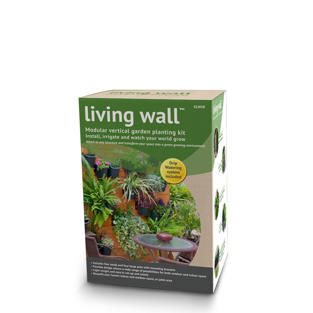 amazon com dig u0027s living wall modular vertical garden planting kit