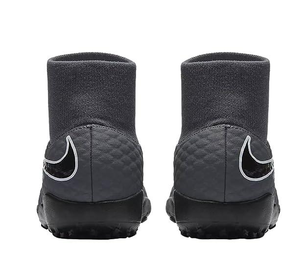 release date 457e9 249ee Nike Jr Phantomx 3 Academy DF TF, Chaussures de Fitness Mixte Adulte,  Multicolore (Dark Grey/Total Oran 081), 38.5 EU: Amazon.fr: Chaussures et  Sacs