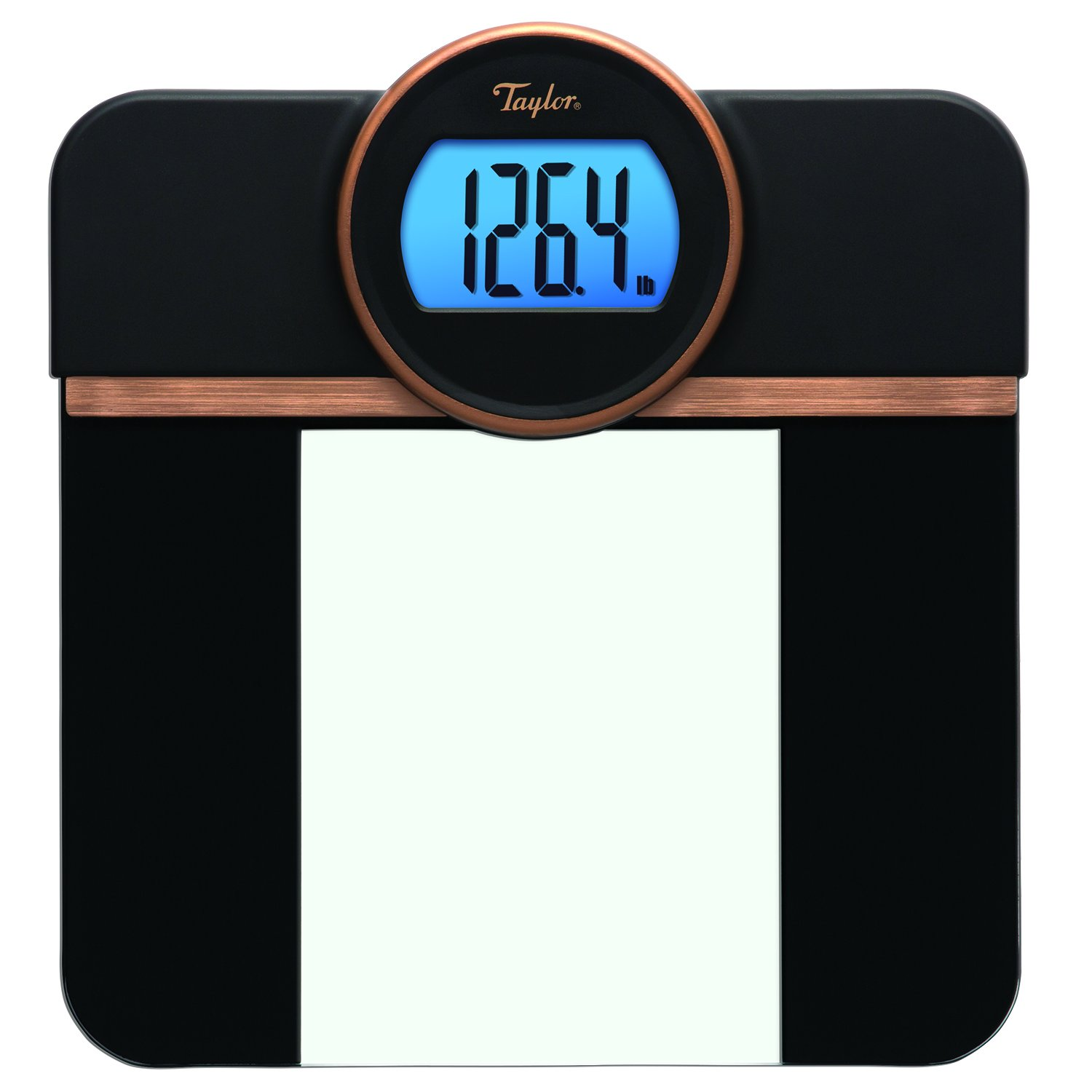Taylor Precision Products 76004072 7600 Retro Scale with Raised Digital Readout, Black