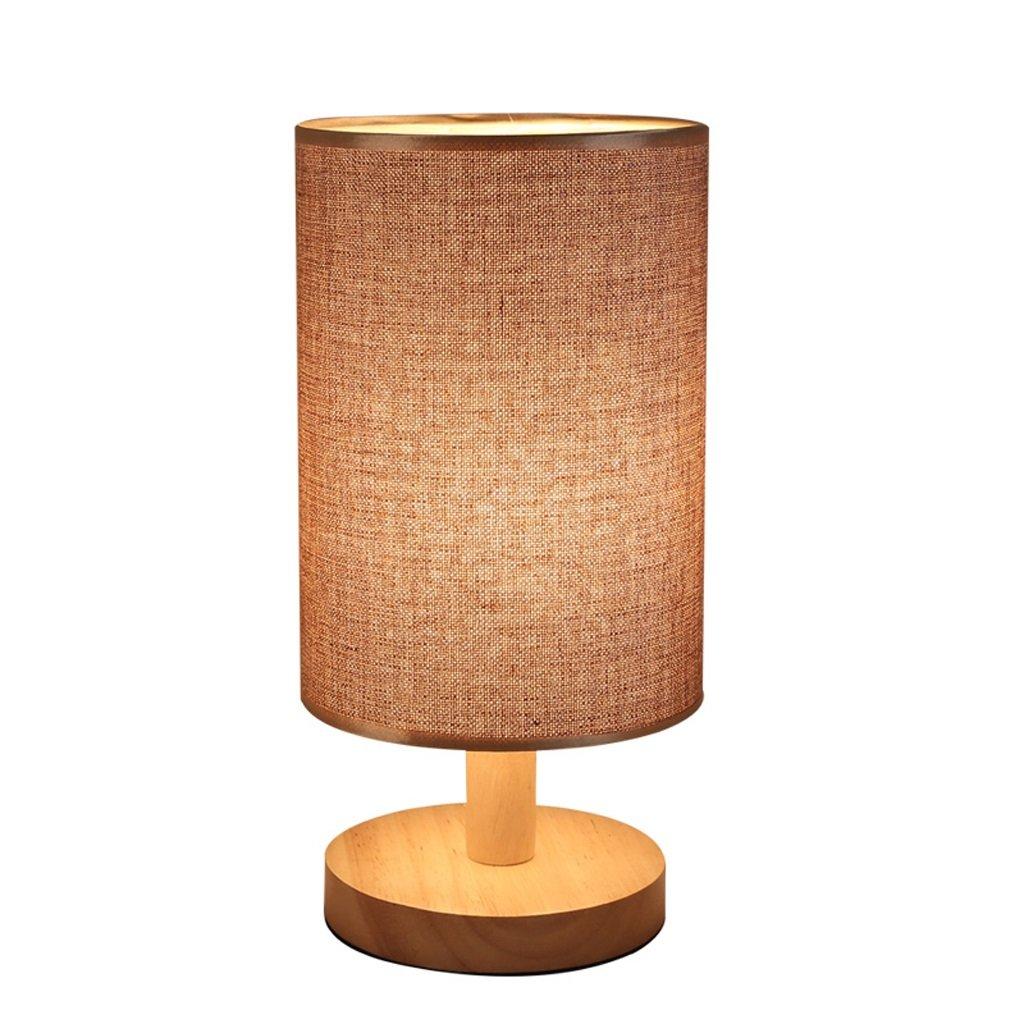 Lámpara Maciza de Mesa de Tela de Madera Maciza Lámpara de Estilo nórdico 91e6ac
