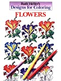 Designs for Coloring - Flowers, Ruth Heller, 0448031477