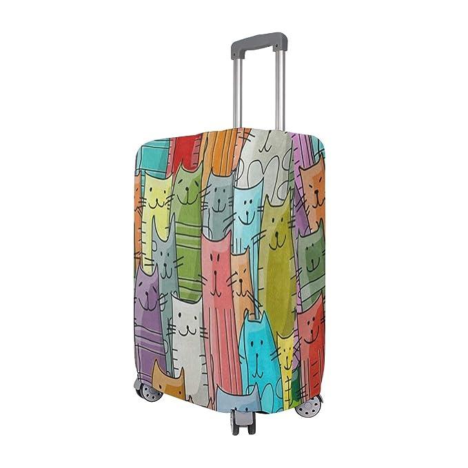 Amazon.com: Funda para maleta, diseño de alfabeto de ...