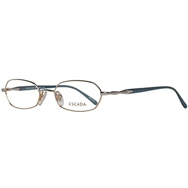 269507c721cf0 Escada Brille Damen Gold: Amazon.de: Bekleidung