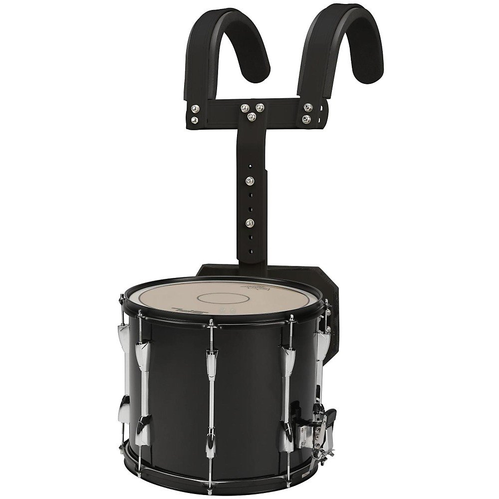 Sound Percussion Labs Marching Snare Drum with Carrier Level 2 14 x 12, Black 190839115041