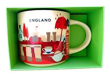 Starbucks You Are Here England Mug