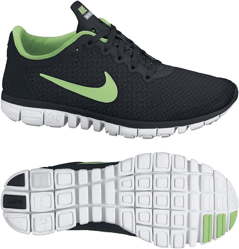 Nike Free 3.0 v2 354749-007 - Zapatillas de Correr de Lino para Mujer, Color Negro, Talla 41: Amazon.es: Zapatos y complementos