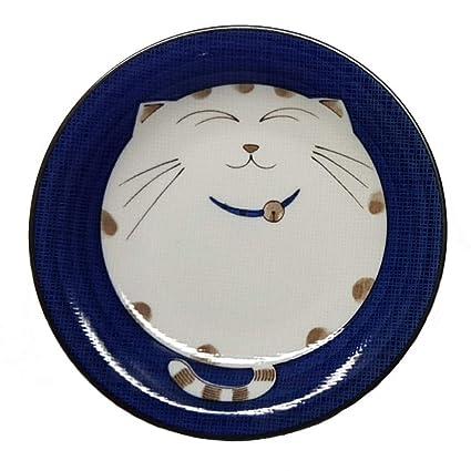 6.5-inch Blue JapanBargain 2560 Plate Dish