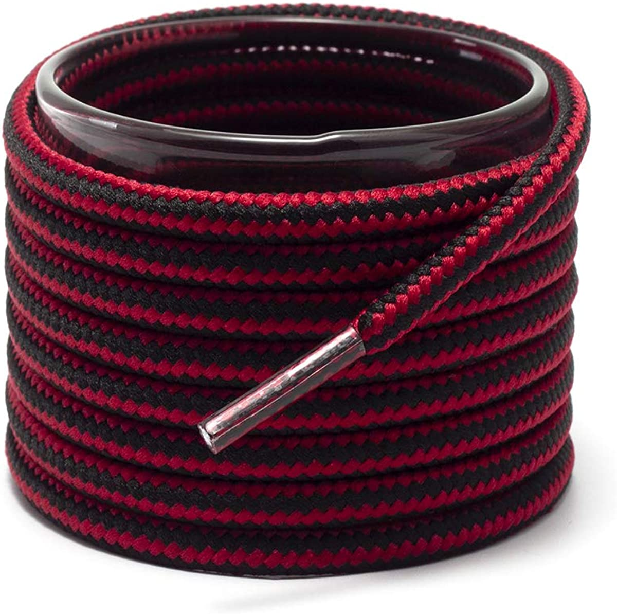 maroon boot laces
