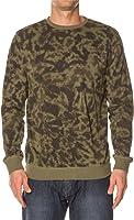 Vans Men's Norte Crew Sweatshirt-Olive