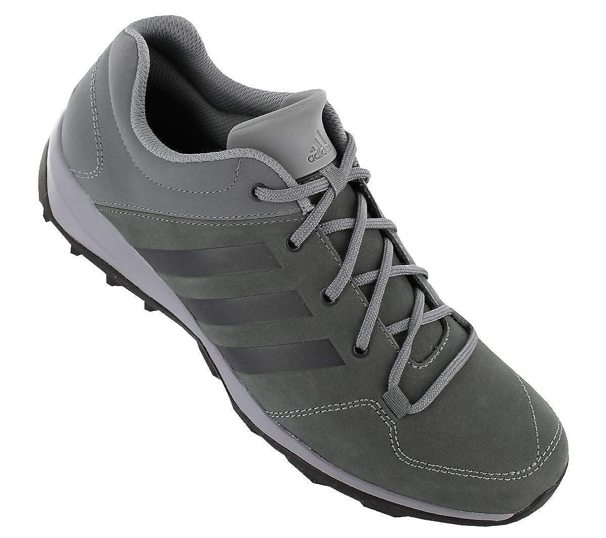 Adidas Daroga Leder Plus Leather Herren Outdoor Schuhe Grau