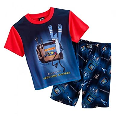Regular Show Video Game Wizards Pajamas Set - Boys (6)