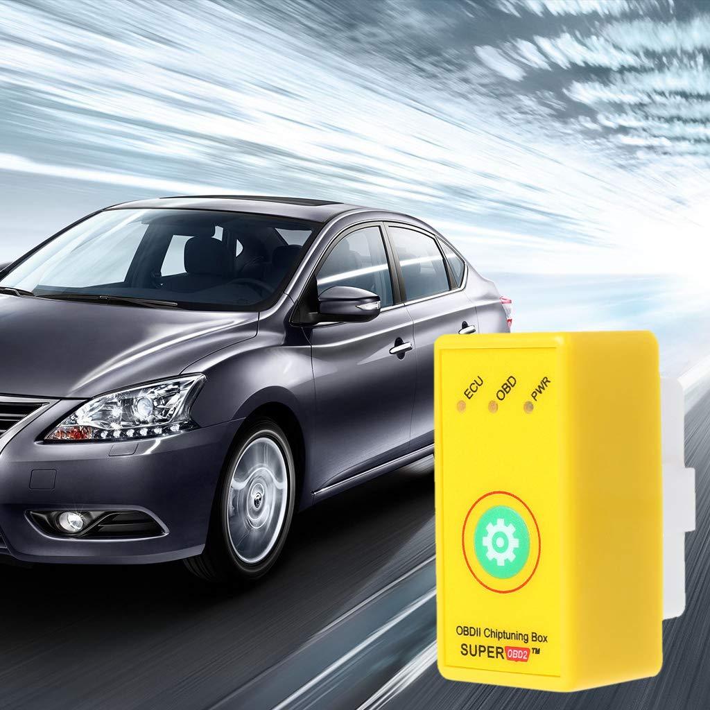 Baodanjiayou carburante 1 x centralina aggiuntiva OBD2 per motori a benzina ottimizzazione della coppia di potenza