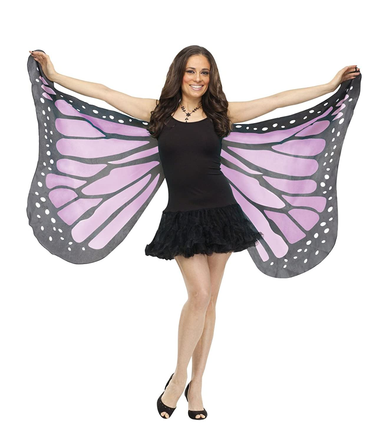 Adult Soft Purple Butterfly Wings
