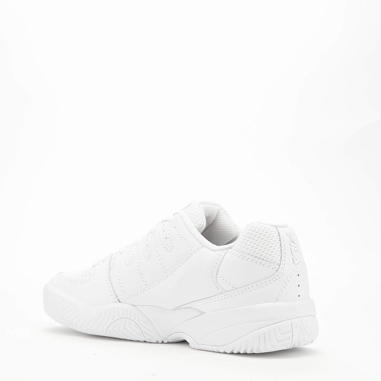 Fila Women's Double Bounce Pickleball Shoe White/Highrise/Metallic Silver