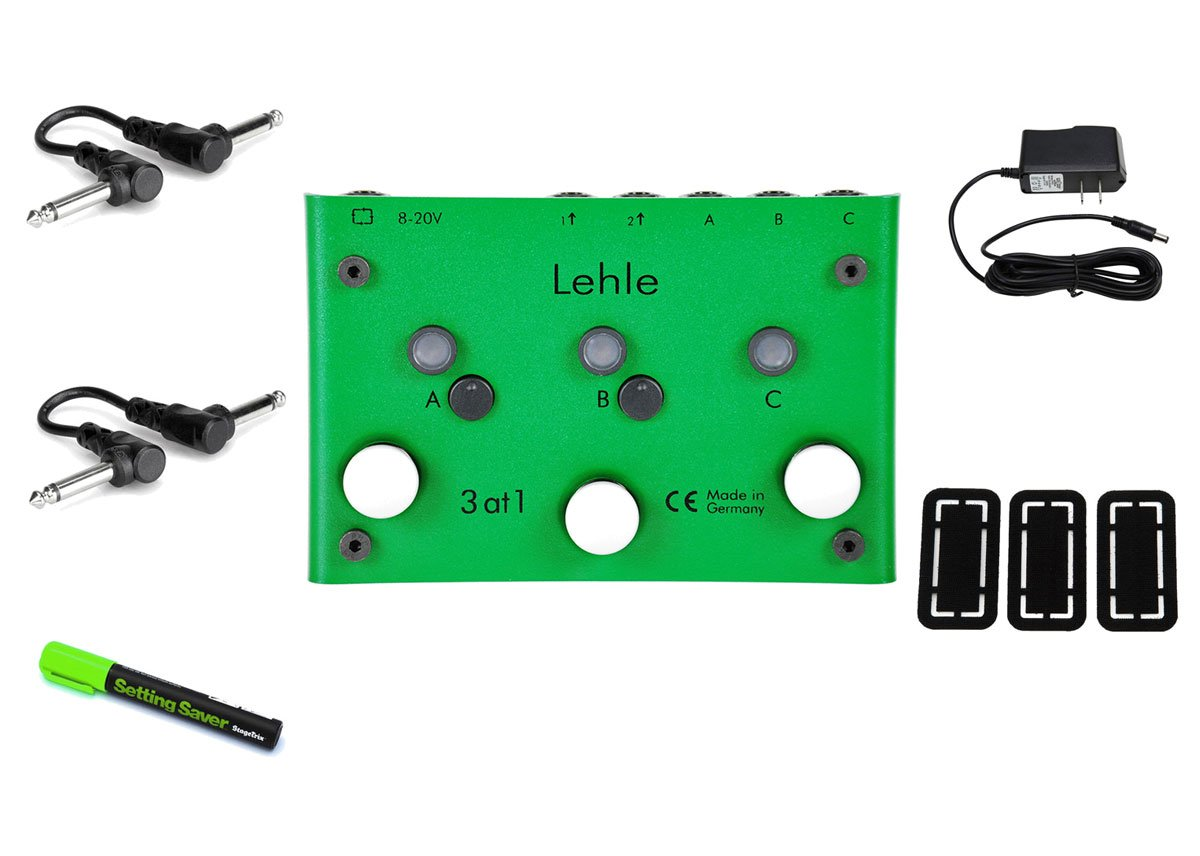 Lehle 3 at 1 Foot Switch PRYMAXE PEDAL BUNDLE