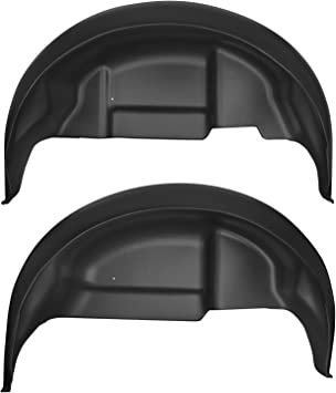 Amazon Com Husky Liners Fits 2017 18 Ford F 150 Raptor Rear Wheel Well Guards Automotive