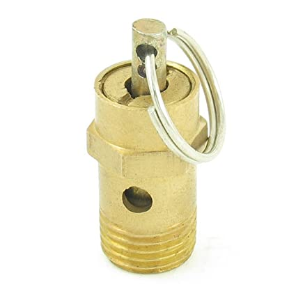 Sourcingmap a13092700ux0051-13mm válvula de alivio de presión de seguridad del compresor de aire de