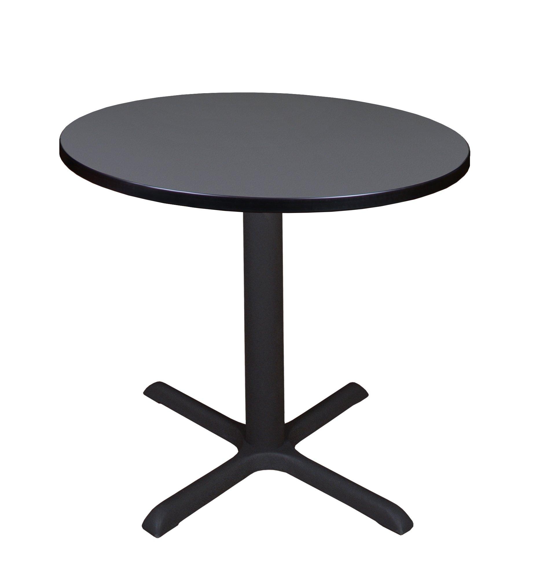 Regency A-TB30RNDSL Cali Round Breakroom Table, 30'', Slate by Regency