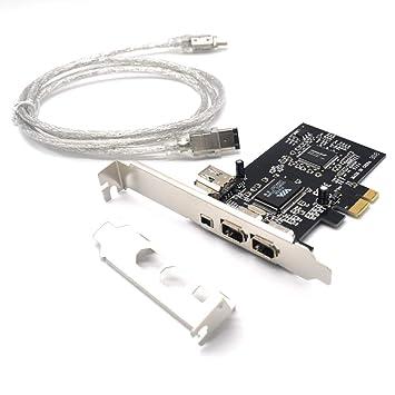 Amazon.com: Padarsey 1394A - Tarjeta de expansión PCIe (3 ...