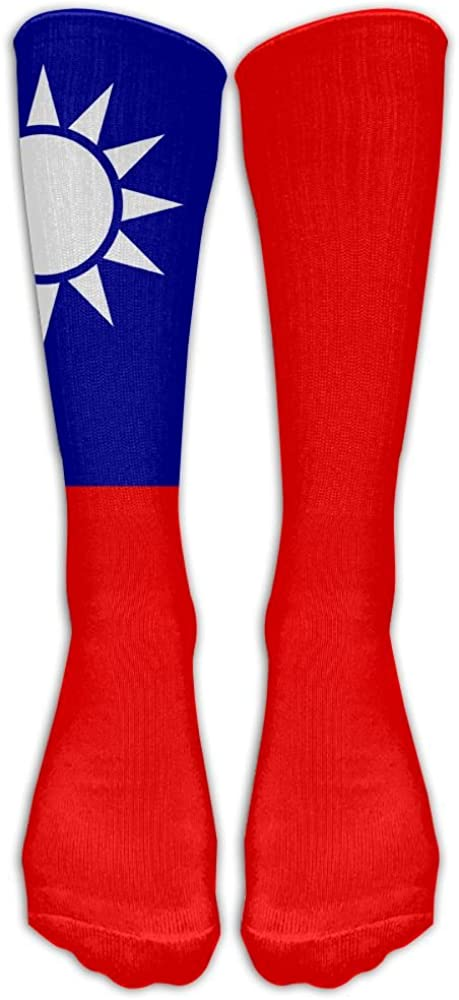 B078NSGVFH Y-CF Flag Of The Republic Of China Sports Athletic Socks Casual Unisex Long Stocking One Size 61kQ2BH1rtCL