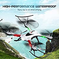 ECLEAR Mini Foldable RC Drone RTF 720P HD Camera 2.4Ghz 6-Axis Gyro Remote Control Quadcopter Toys for Adult Kids,White