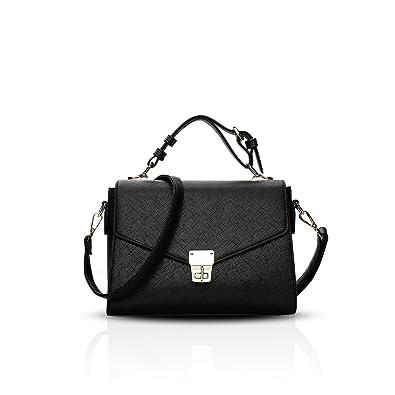 1ce4e1a281 NICOLE DORIS Casual Elegant Sweet Handbag Women Crossbody Shoulder Bag  Purse Tote Commuter Small Bag PU Leather