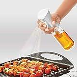 Decor Fitness Freakff100 Refillable Oil Sprayer - 300 Ml Polypropylene Oil Container,White Lid,300Ml,Polypropylene