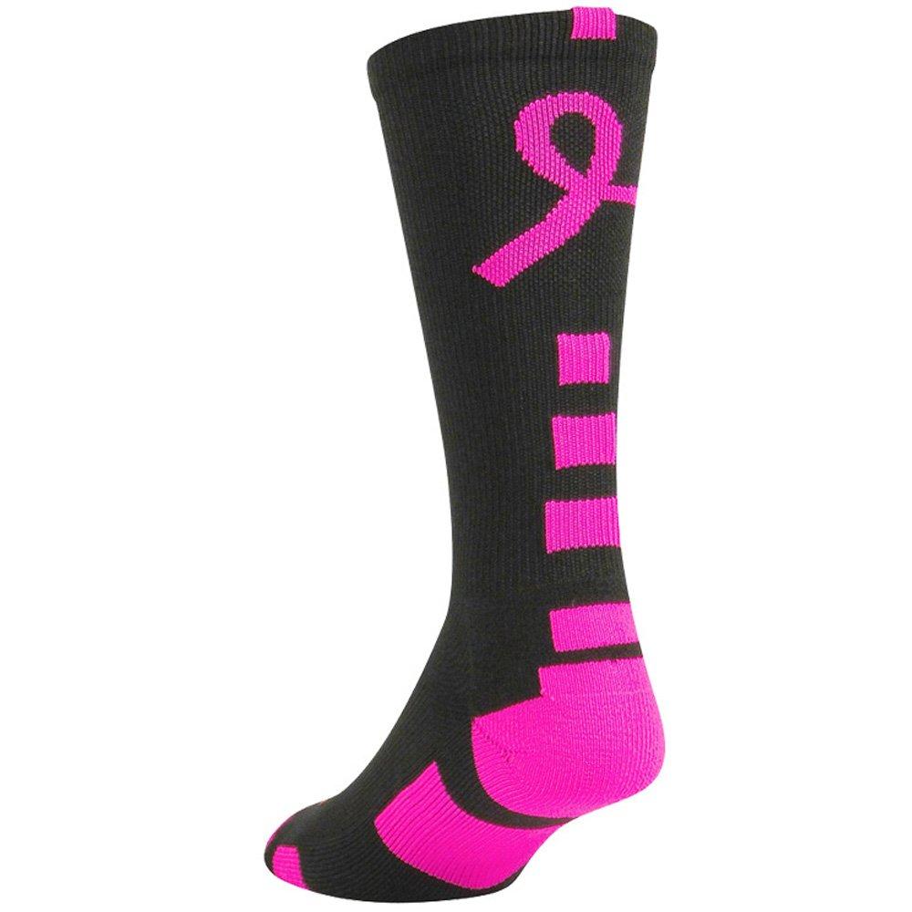 Twin City Baseline Breast Cancer Awareness Crew Socks by TCK