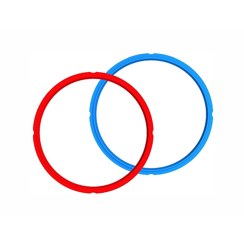 Instant Pot Sealing Ring 2-Pack - 8 Quart Red/Blue