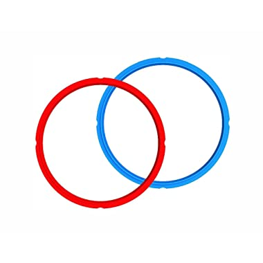 Instant Pot Sealing Ring 2-Pack - 8 Quart Red/Blue