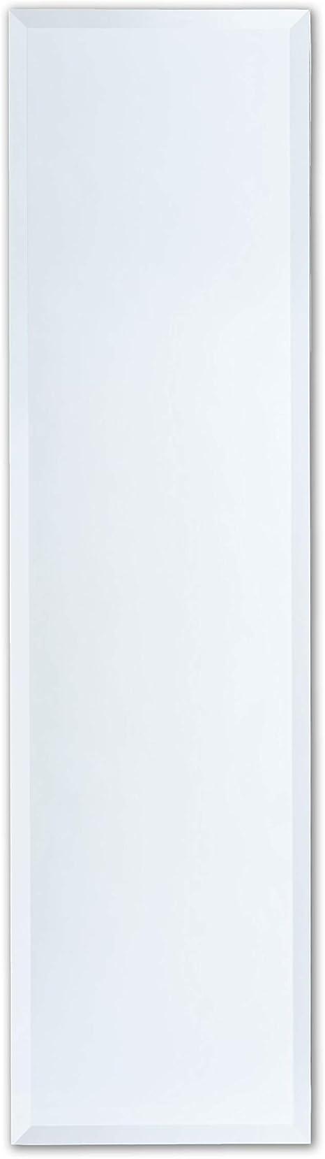 Better Bevel 12 X 48 Frameless Full Length Rectangle Mirror 1 Beveled Edge Wall Mirror Kitchen Dining