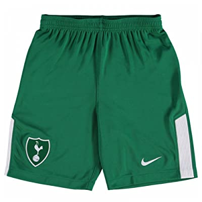 2017-2018 Tottenham Away Nike Goalkeeper Shorts (Green) - Kids