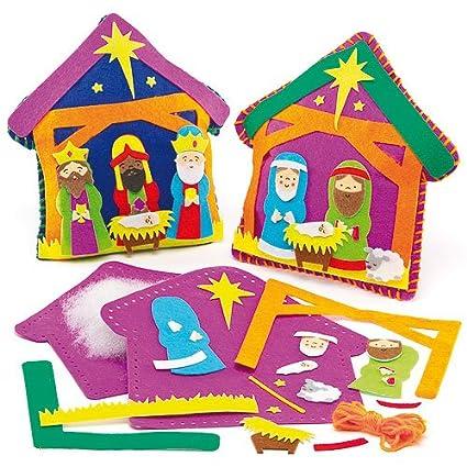 Kits de Costura Infantiles para Hacer Cojines de Fieltro en ...