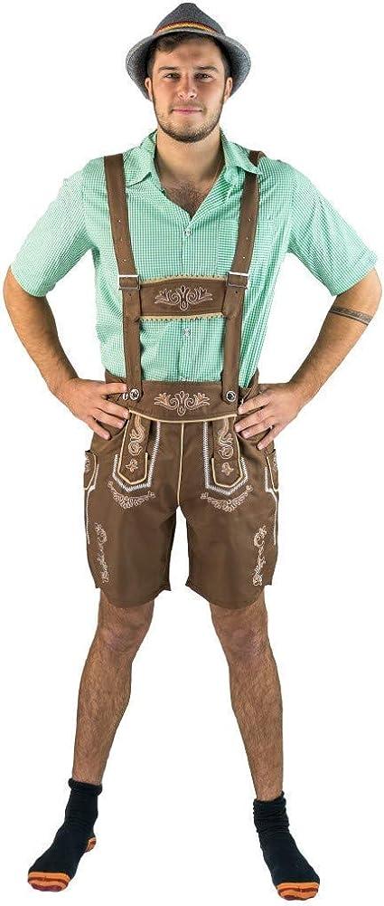 Amazon.com: Bodysocks - Pantalones de piel para hombre, S ...