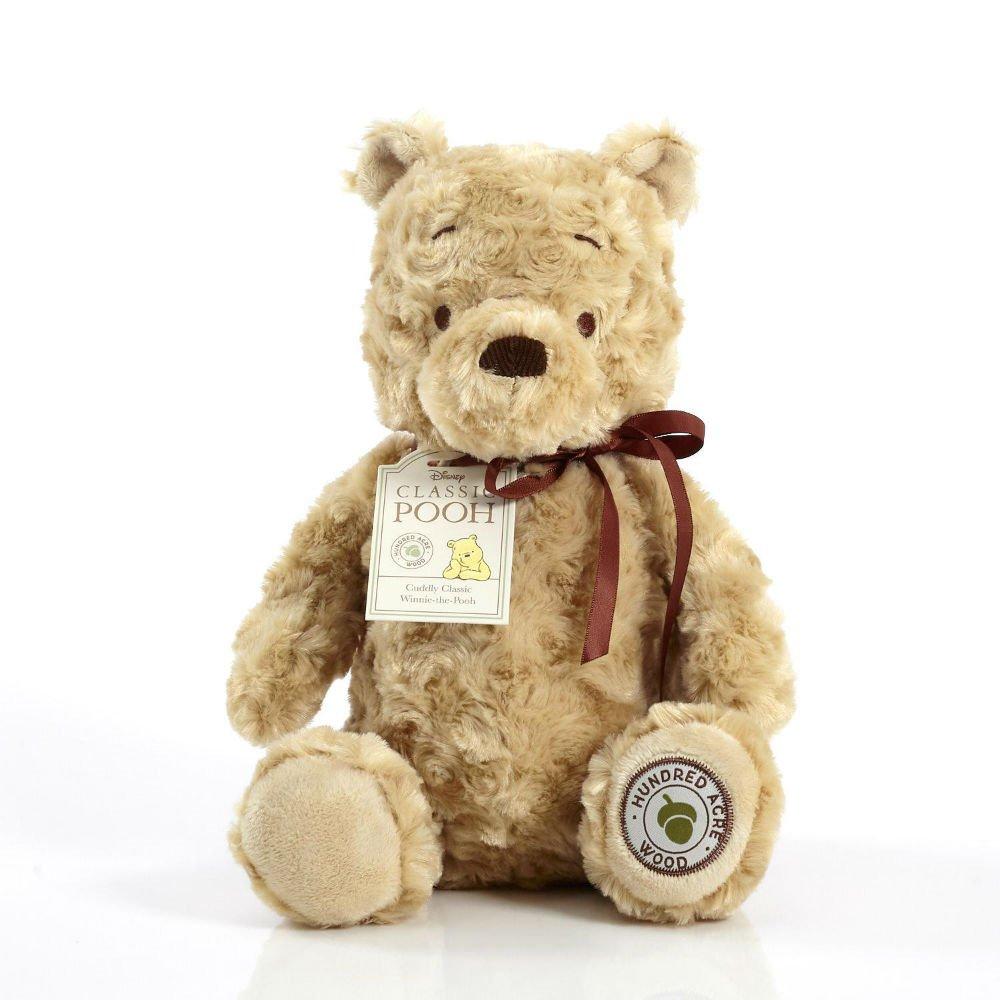 Amazon.com  Cuddly Classic Winnie The Pooh  Toys   Games 386a2f735c94