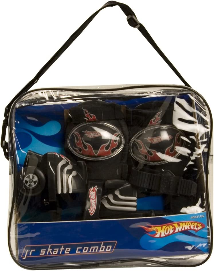 Hot Wheels Junior Skate Combo in Vinyl Bag