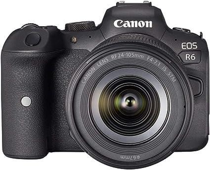 Canon Eos R6 Vollformat Systemkamera Gehäuse Kamera
