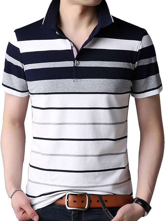 Camiseta De Hombre Summer Loose Negro Verde Azul Amarillo De Gran ...