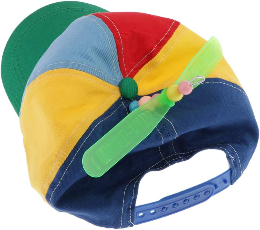 Parent-child Propeller Bamboo Pole Hat Baseball Cap Duck Tongue Hat Multi Kids