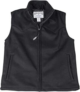 product image for Schaefer Outfitters Ladies Wool Arena Vest 730L-BK-02 Color - Black Size - XS