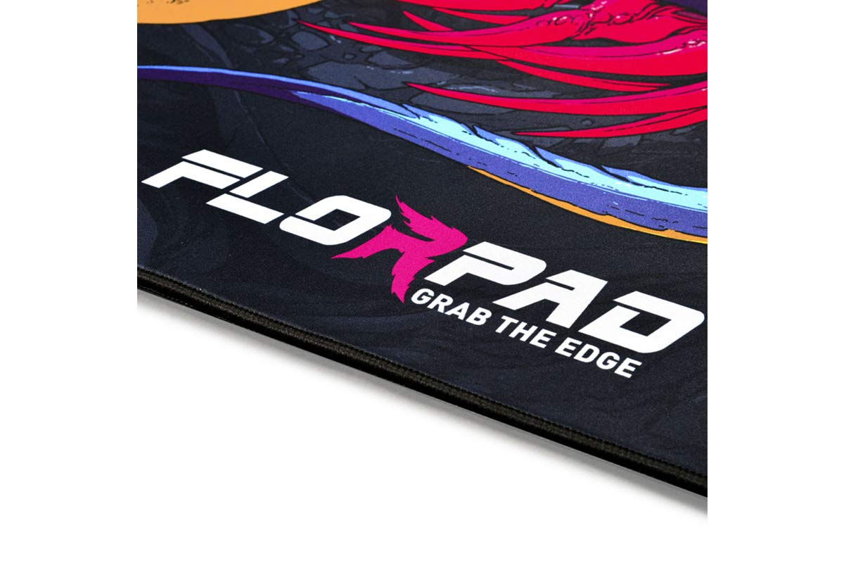 120x120cm Florpad Gamer//Esport Tappetino Protettivo/- Morbido Speciale HyperBeast